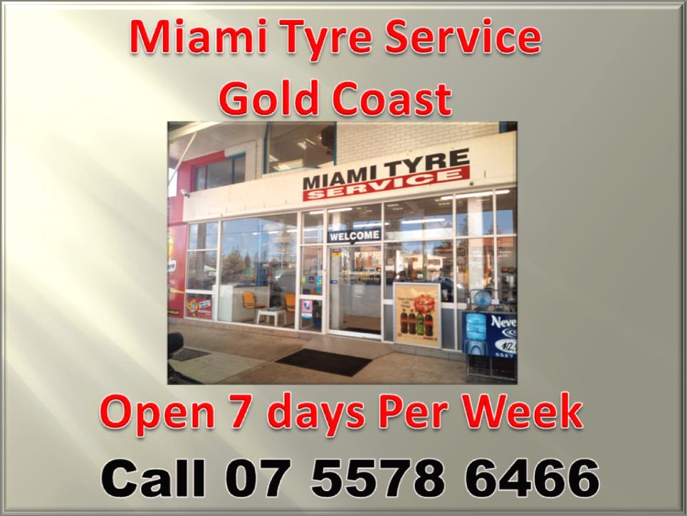 Miami tyre service Gold Coast